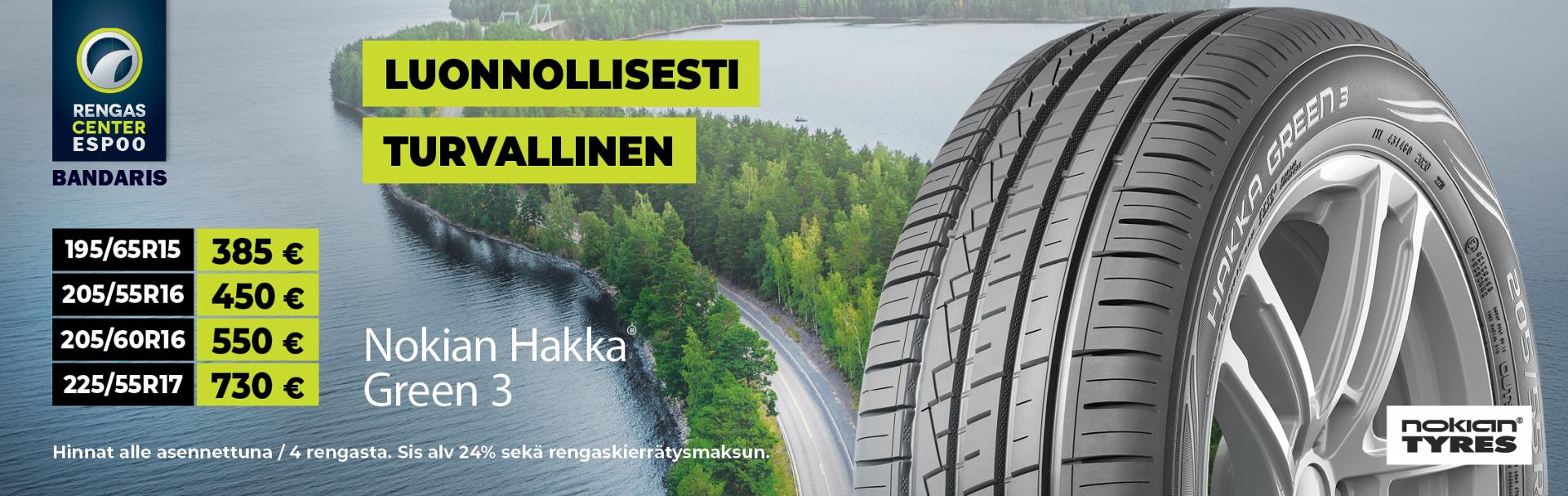 Nokian Hakka Green 3